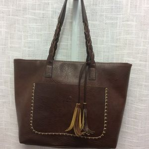 Weimeibaige brown leather purse
